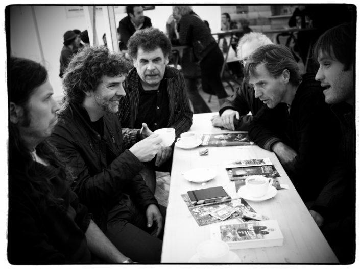 Paul Flush, Philippe Aerts, Ilse Duyck, Luc Vanden Bosch